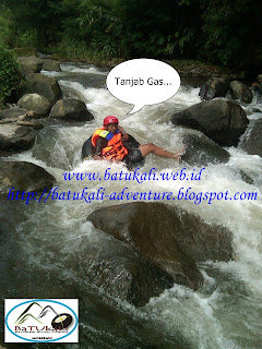 Tubing River Batukali Adventures Sukabumi