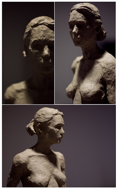 Clay Figure Sculpture