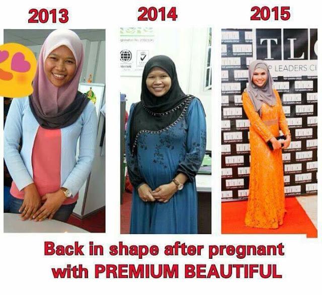 Premium Beautiful - Testimoni Selepas Bersalin