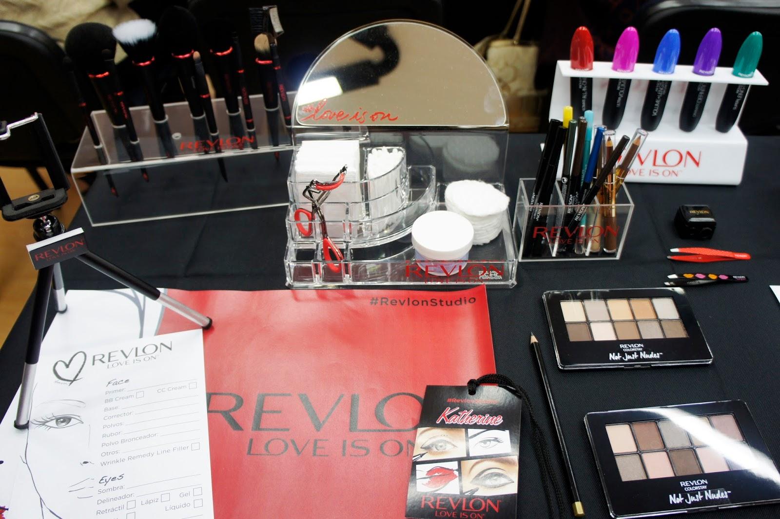 Revlon, taller, maquillaje