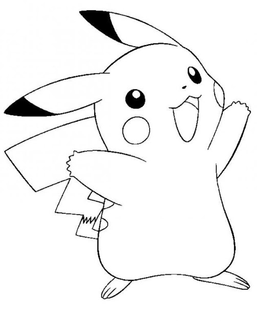 Printable Pikachu Coloring Pagesprintablecoloring Pages