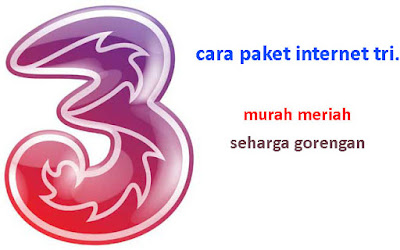 Paket Internet 3 (tri) Murah