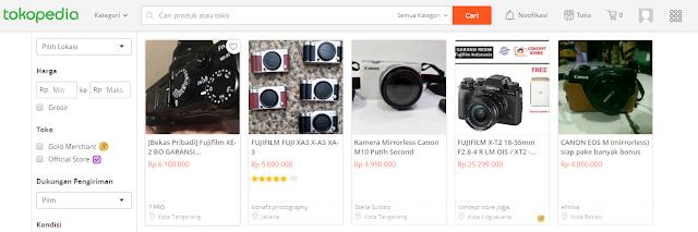 Kamera Mirrorless Terbaru