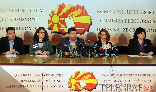 Official SEC Results: VMRO-DPMNE Attain 51 Mandates, SDSM Gain 49