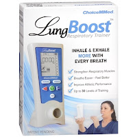 LungBoost Respiratory Trainer box