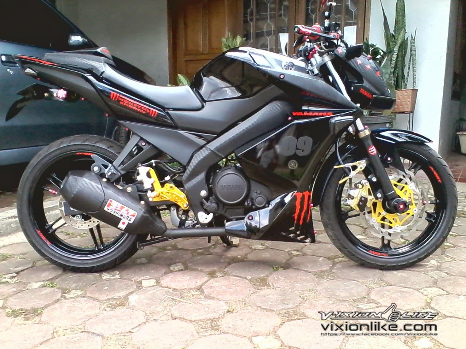 Ide 99 Modifikasi Vixion 2010 Street Fighter Terupdate Motor Runcing
