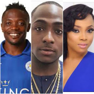 Ahmed Musa, Davido and Others