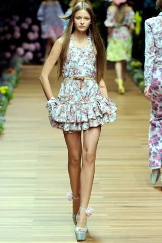 Spring/ Summer 2012 Romantic Trend: Ruffles