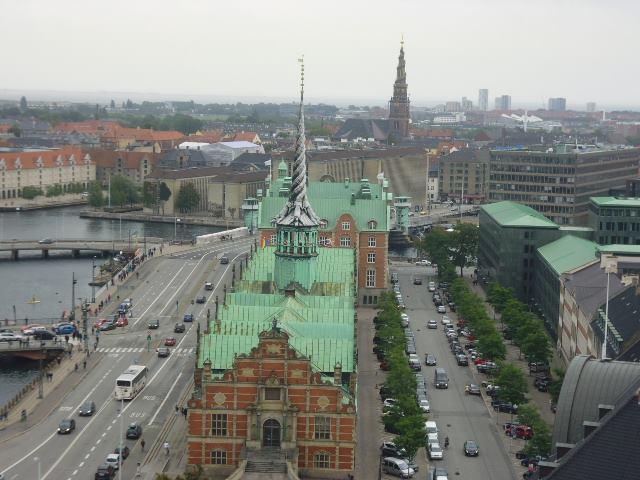 Edifico de la Bolsa de Copenhague (Kobenhavns Fondsbors)