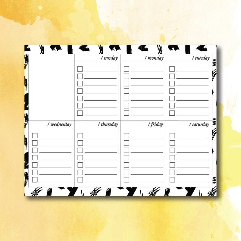 photograph relating to Free Digital Planner Pdf referred to as No cost Weekly Towards-Do Checklist for Electronic Planners + Printable