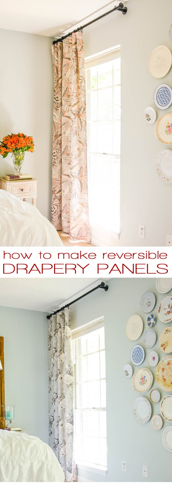 How to Sew Drapes that Can Reverse