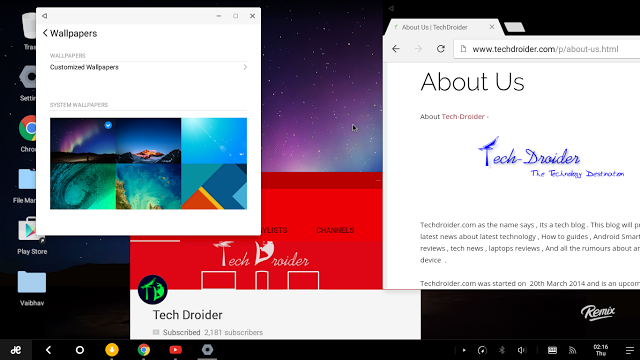 Remix OS Gets Android 6.0 Marshmallow Update