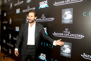 Saif & Diana Penty snapped at Imperial Hotel