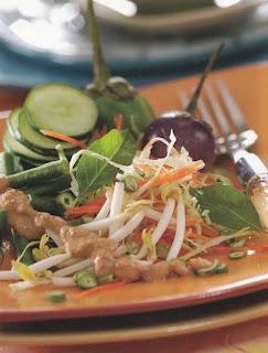 Salad Sayur Enak Campur Saun Kacang