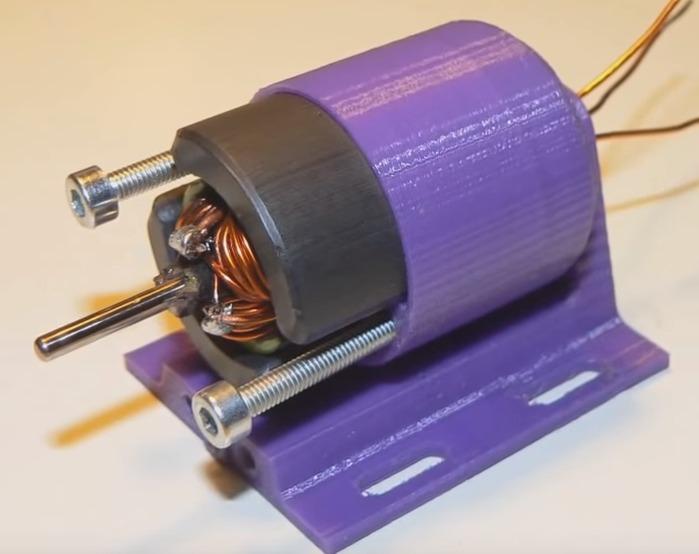 Diy 3d Printing High Rpm 3d Printed Rc Brushless Motor