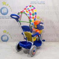royal gajah sepeda roda tiga anak