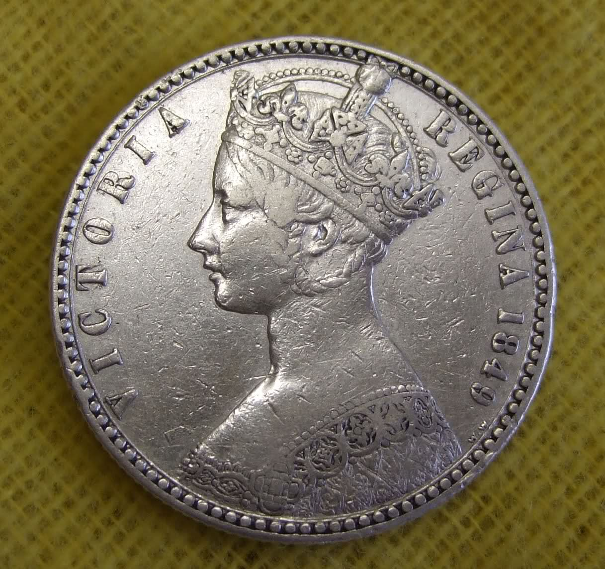 Rare coins of queen victoria - Speed up token limit keyboard