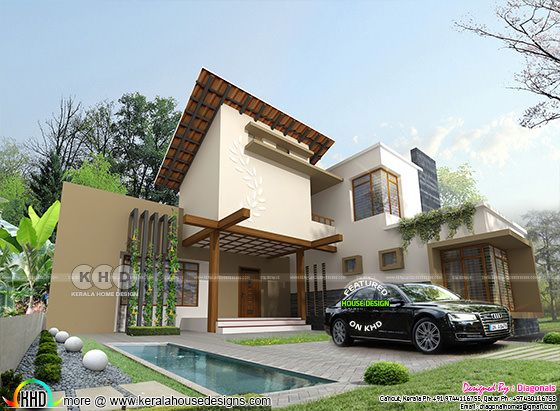 2395 square feet 4 bedroom ultra modern home