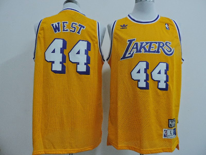 115ba8a610f Autographed Jerry West Jersey - 44 .. Where to buy cheap Air Max 90  Hperfuse QS with American flag for 2014 2014 NBA ...