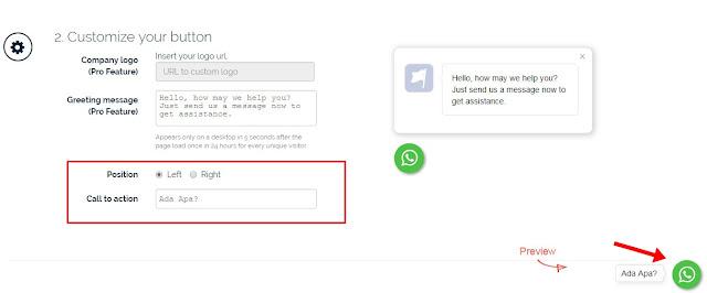 Cara Membuat Tombol WhatsApp di Blog