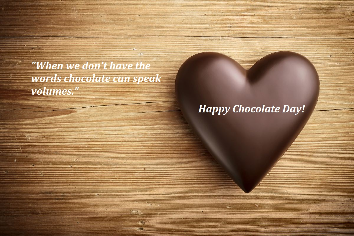 chocolate day msg