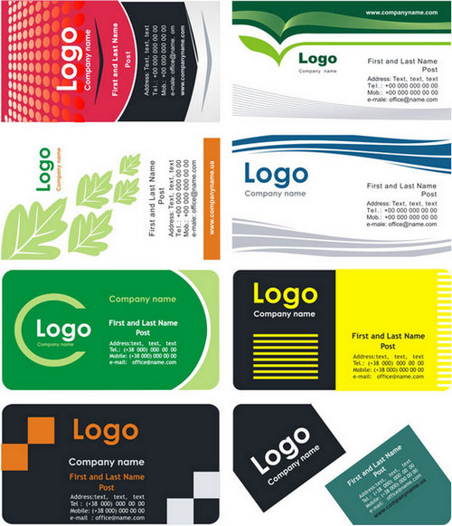 Cool Business Card - Free Printable CDR Format