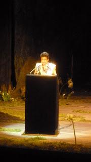 Lorella Bertani, présidente du Conseil de fondation du Grand Théâtre s'adresse aux invités
