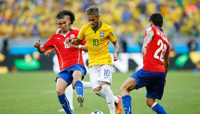 Brasil vs Chile en vivo Eliminatorias Mundial 10 Octubre 2017