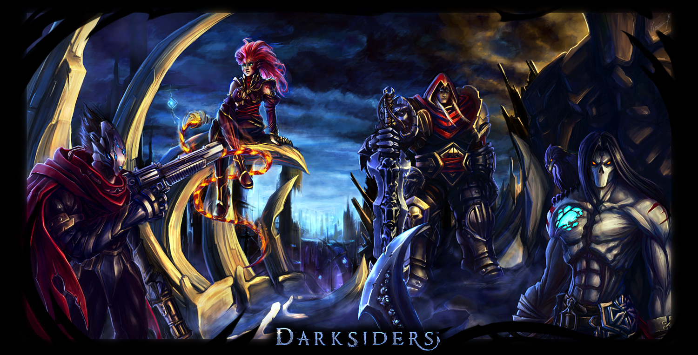 Darksiders War Wallpaper By: Shane's KB For Gamers: Darksiders 2