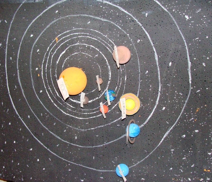 Escuela Maqueta Sistema Solar