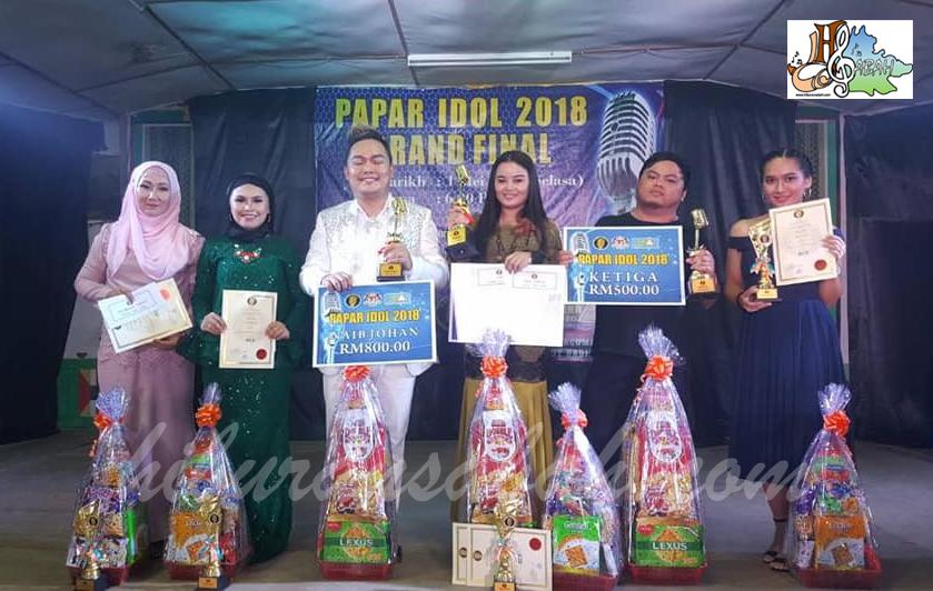 Pemenang-pemenang Hadiah Papar Idol 2018