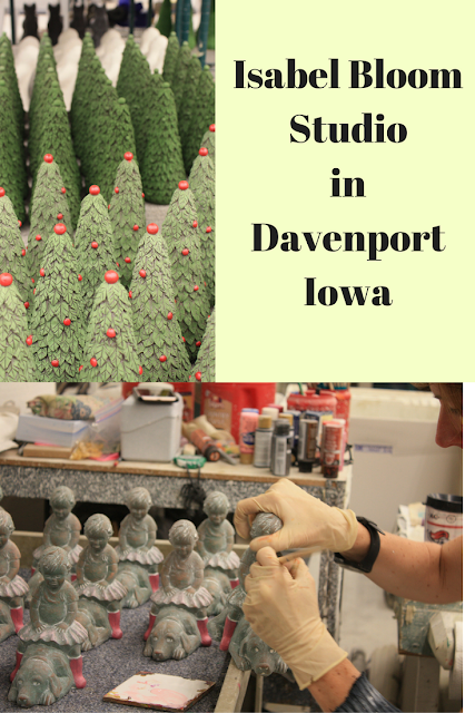 Isabel Bloom Sculptures and Studio Tour in Davenport, Iowa