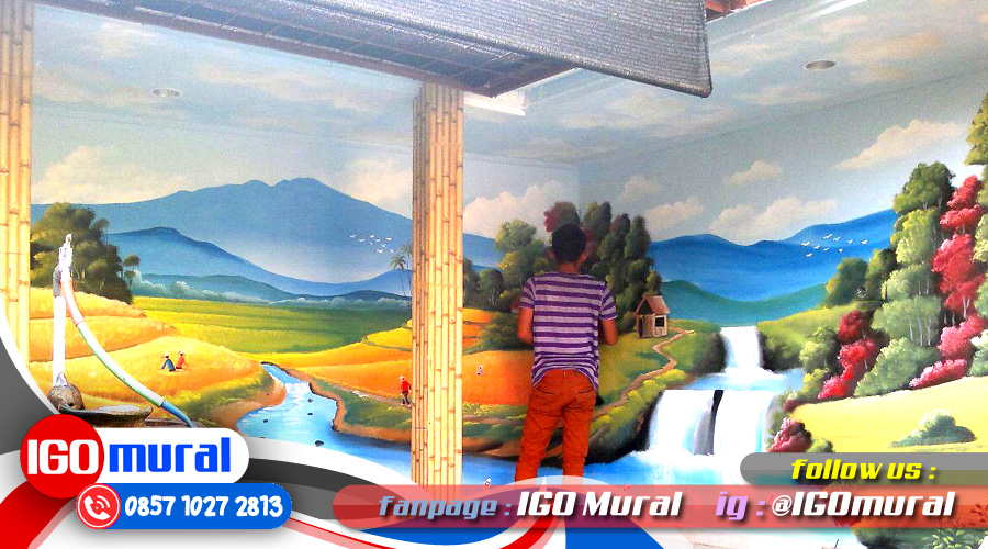 Lukisan Dinding Rumah, Gambar Lukisan 3D
