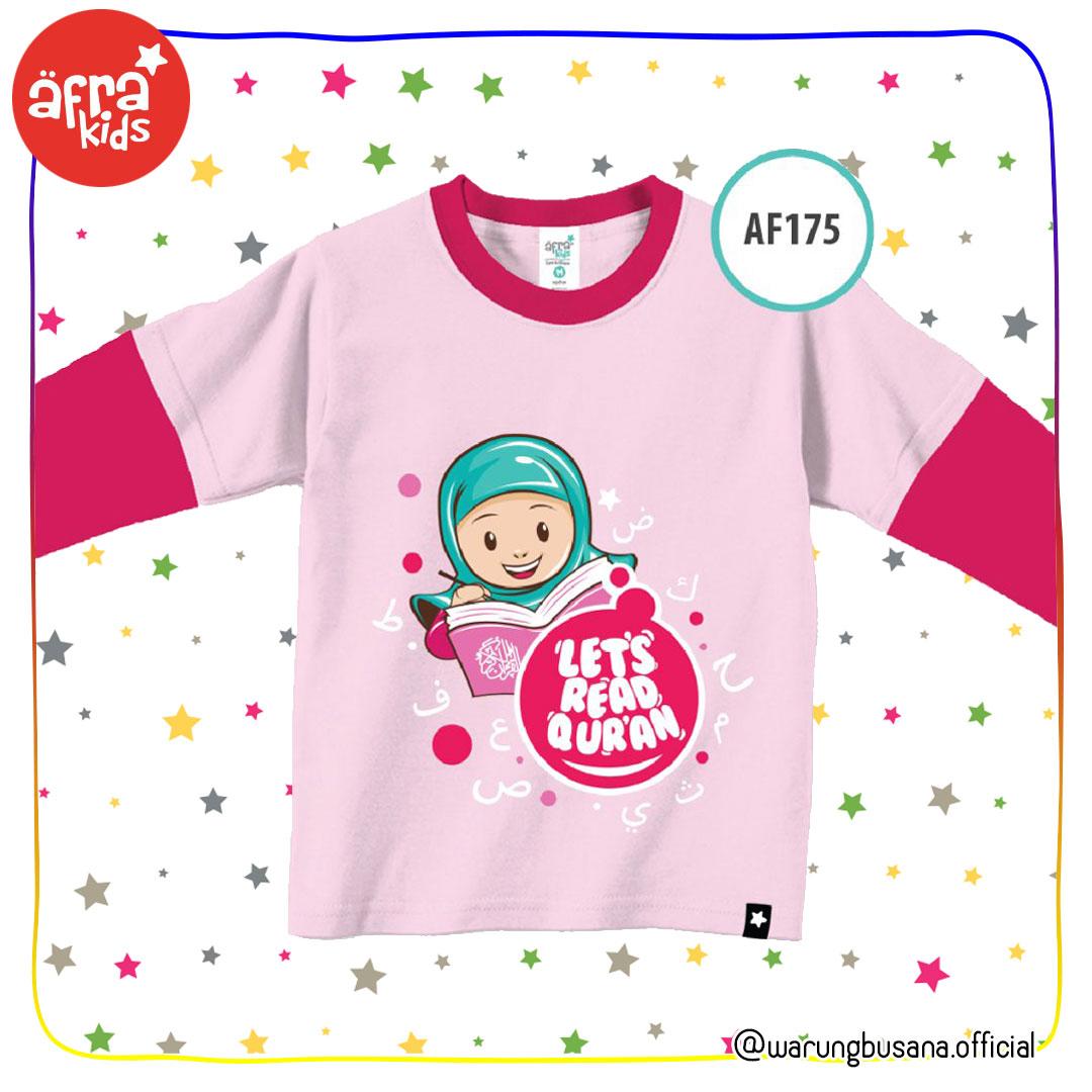 Afrakids Kaos Anak AF175 Lets read quran