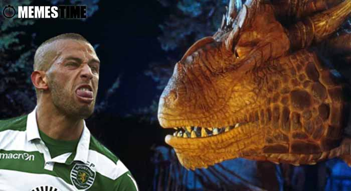 Memes Time… da bola que rola e faz rir - Leicester x Porto na Champions League. Slimani vai voltar a Marcar? – Slimani: Caçador de Dragões ou Marcador aos Dragões?