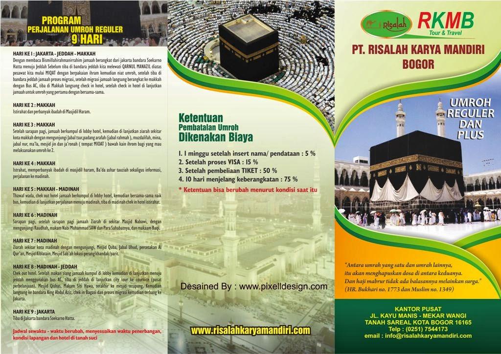 Contoh Brosur Haji