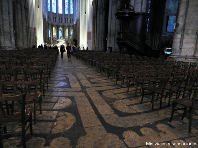 Laberinto Catedral de Chartres, Francia