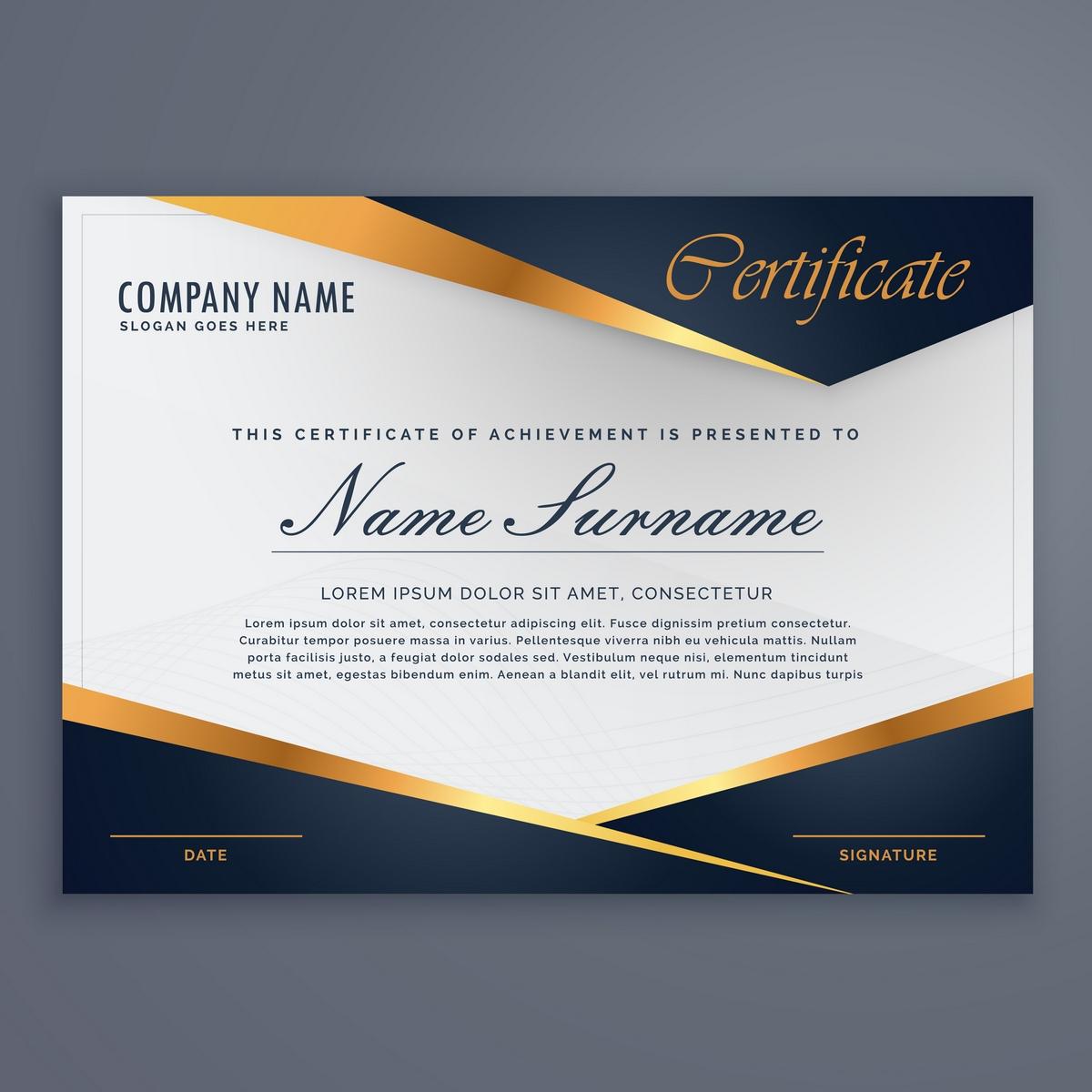 jasa desain sertifikat