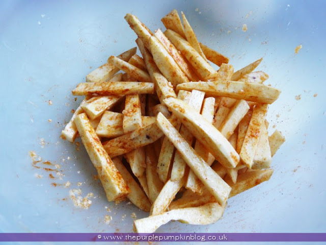 Oven Baked Spicy Sweet Potato Fries   The Purple Pumpkin Blog