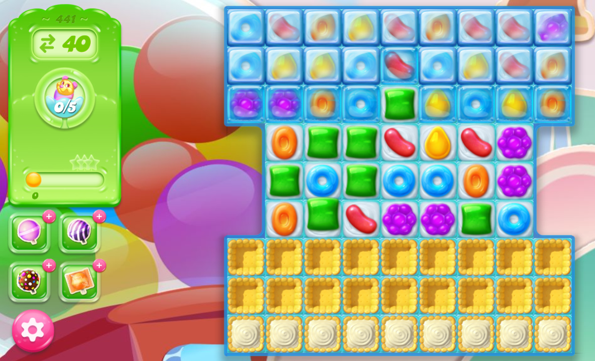 Candy Crush Jelly Saga 441