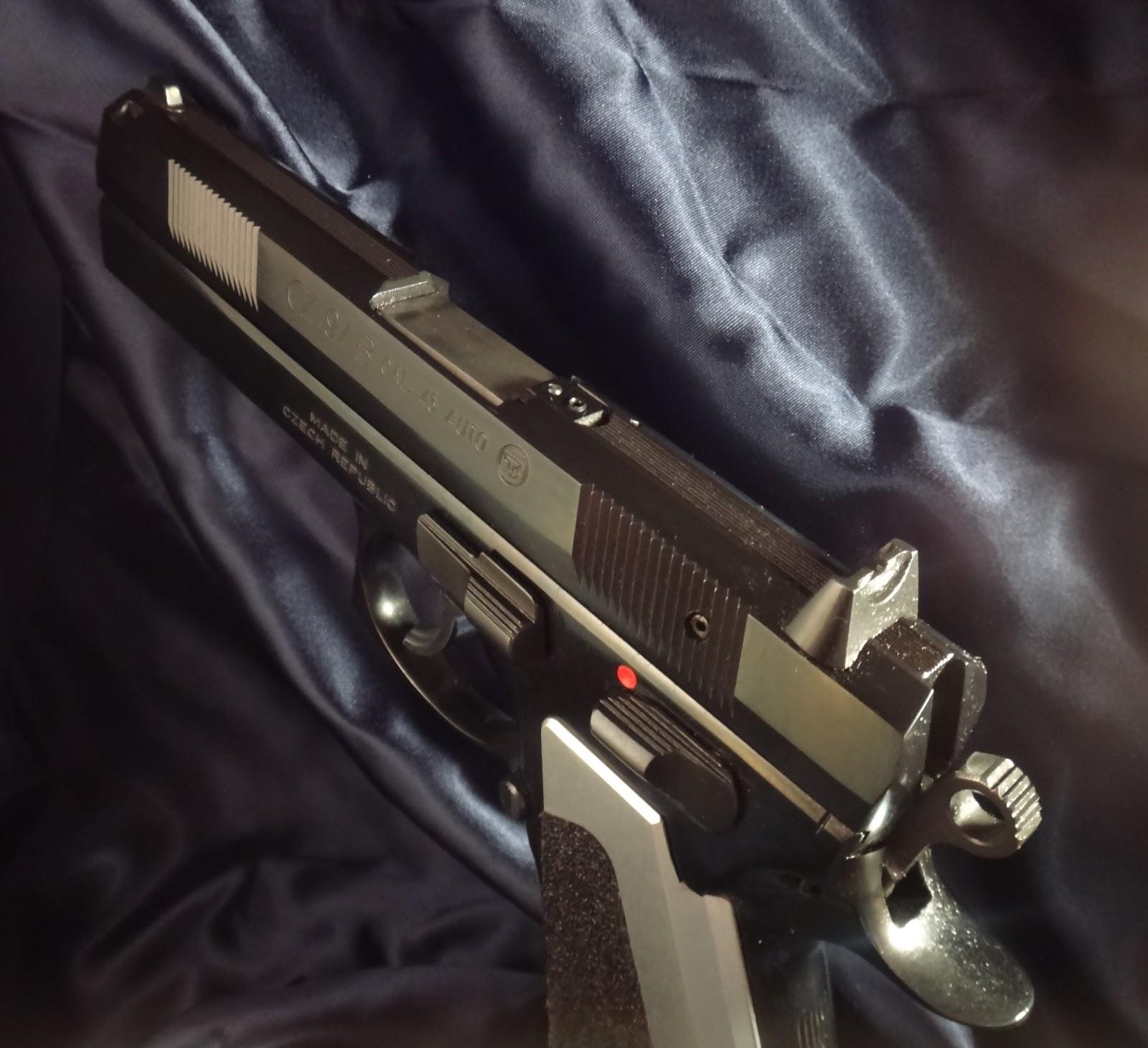 Average Joe's Handgun Reviews: CZ 97B  45 ACP