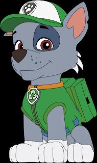 Rocky 2 Patrulha Canina Vetor Grátis Paw Patrol Free Vector Download