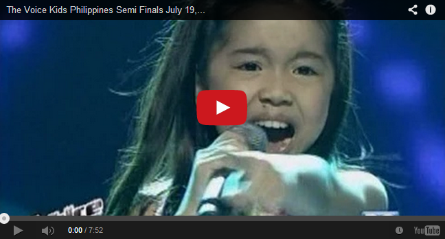 Semi Finals: 'I Will Always Love You' performed by Darlene Vibares on The Voice Kids PH