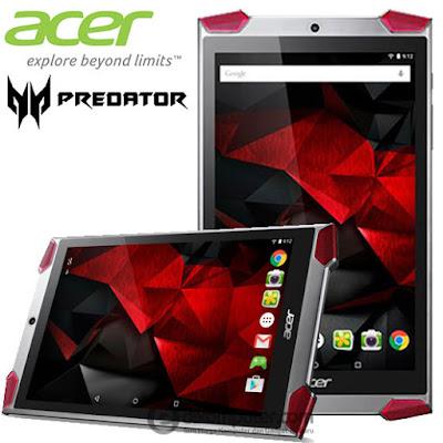 Harga Tablet Acer Predator 8 GT-810 x7-Z8700