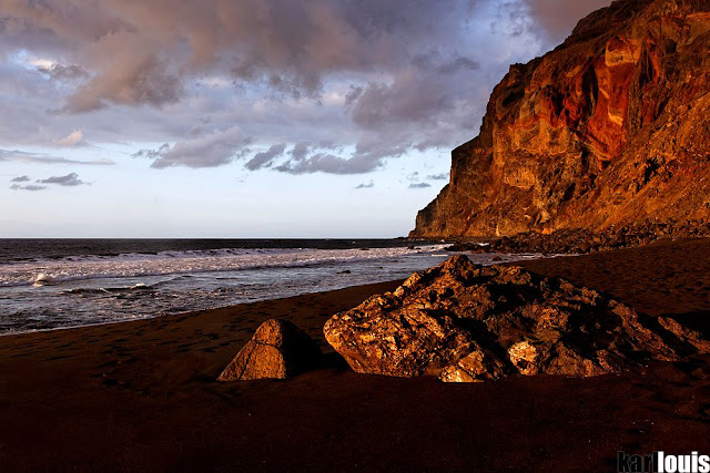 Playa del Inglés, Valle Gran Rey, La Gomera, Canary Islands - Karl Louis