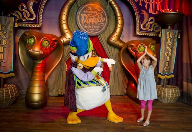 New Fantasyland Pato Donald Magic Kingdom