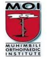 RECEPTIONIST at Muhimbili Orthopaedic Institute (MOI) November 2018