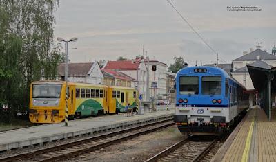 Regionova, České dráhy