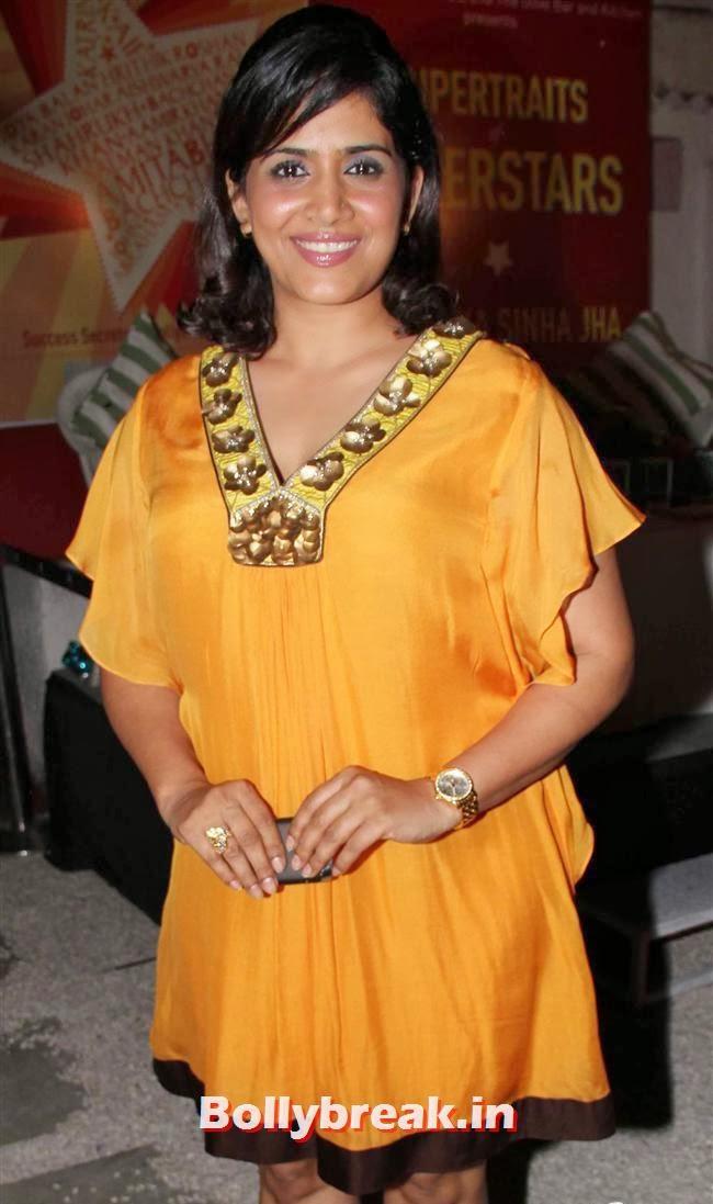 Sonali Kulkarni, Anjana Sukhani at Supertraits of Superstars Book Launch