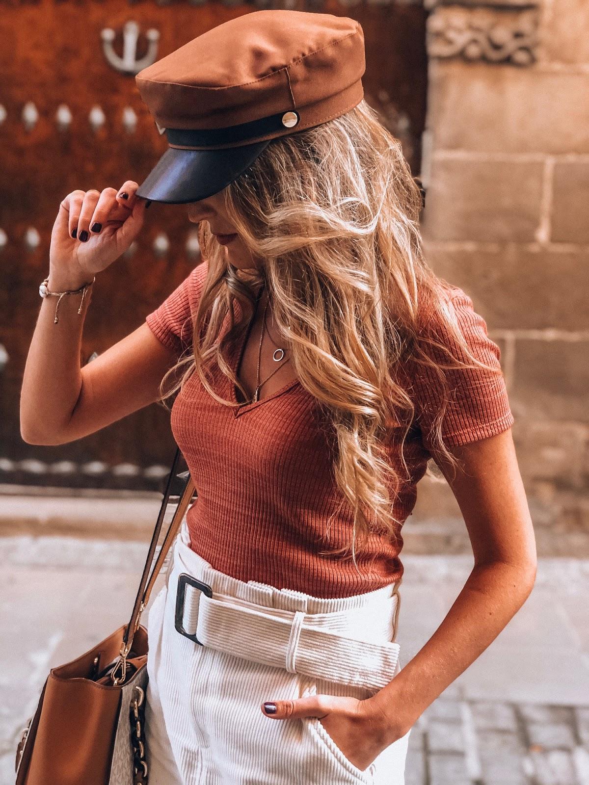 gorras estilo marinero